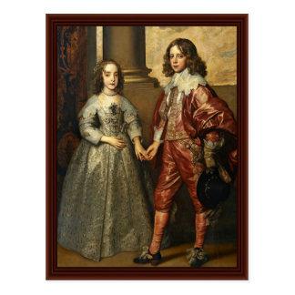 Retrato de Guillermo del naranja como príncipe Tarjetas Postales