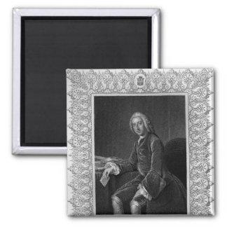 Retrato de Guillermo Pitt, 1r conde de Chatham Imán Cuadrado