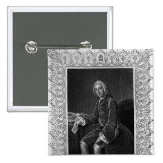Retrato de Guillermo Pitt, 1r conde de Chatham Pin Cuadrado
