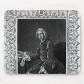 Retrato de Guillermo Pitt 1r conde de Chatham Tapetes De Raton