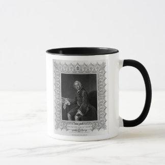 Retrato de Guillermo Pitt, 1r conde de Chatham Taza