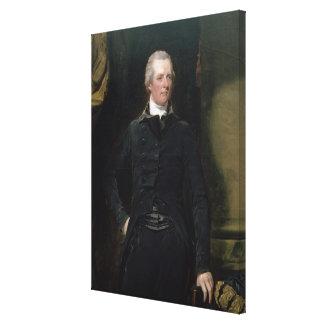 Retrato de Guillermo Pitt el más joven Impresión En Lienzo