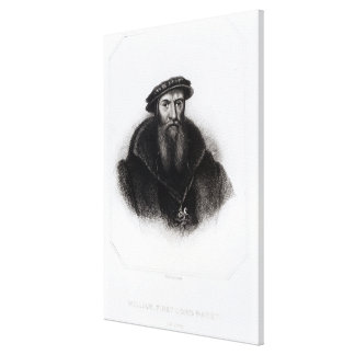 Retrato de Guillermo, primer señor Paget Lona Envuelta Para Galerías