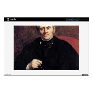 Retrato de Guillermo Sisley de Pedro Renoir Calcomanía Para 33cm Portátil