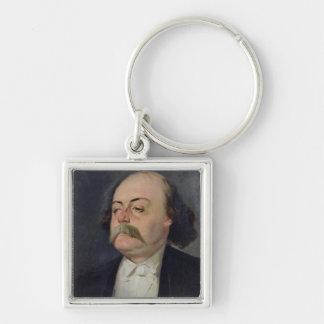 Retrato de Gustave Flaubert 1868-81 Llavero Personalizado