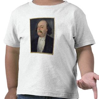 Retrato de Gustave Flaubert 1868-81 Camisetas