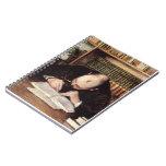 Retrato de Gustavo Caillebotte- de una escritura d Libreta