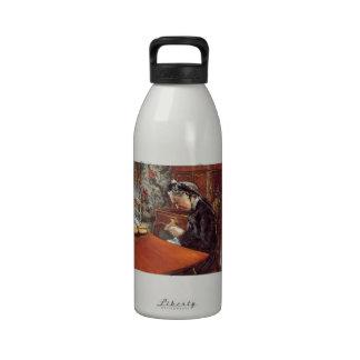 Retrato de Gustavo Caillebotte- del Mademoiselle Botella De Agua