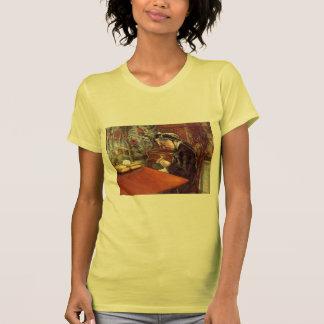 Retrato de Gustavo Caillebotte- del Mademoiselle Camiseta