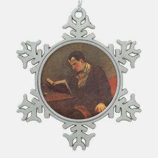 Retrato de Gustavo Courbet- de Charles Baudelaire Adorno