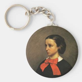 Retrato de Gustavo Courbet- del Mlle. Jacquet Llavero