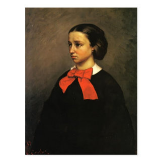 Retrato de Gustavo Courbet- del Mlle. Jacquet Postal