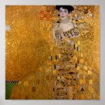Retrato de Gustavo Klimt //Adela Bloch-Bauer Posters