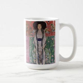 Retrato de Gustavo Klimt de Adela Bloch-Bauer II Taza Clásica