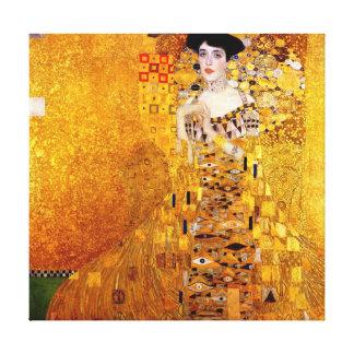 Retrato de Gustavo Klimt de Adela Bloch-Bauer Impresiones En Lona Estiradas