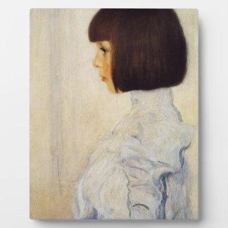 Retrato de Gustavo Klimt de la placa de Elena Klim