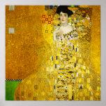 Retrato de Gustavo Klimt del poster de Adela