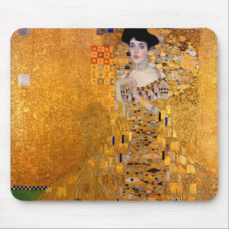 Retrato de Gustavo Klimt Alfombrilla De Ratón