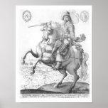 Retrato de Gustavus Adolphus II Posters