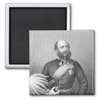 Retrato de H.R.H. El duque de Cambridge Imán Cuadrado