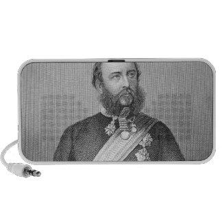 Retrato de H.R.H. El duque de Cambridge Laptop Altavoz