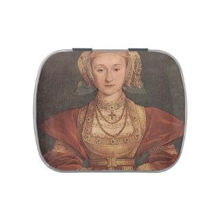 Retrato de Hans Holbein- de Anne de Cleves Frascos De Caramelos