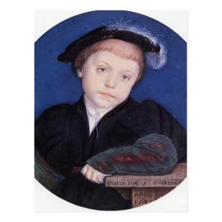 Retrato de Hans Holbein- de Charles Brandon Postales