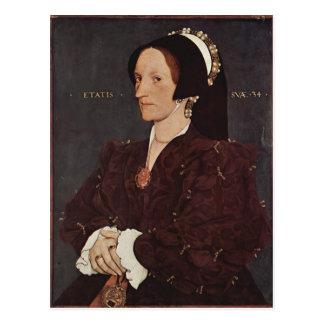 Retrato de Hans Holbein- de Margaret Wyatt, señora Tarjetas Postales