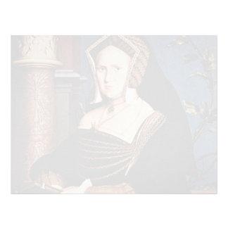 Retrato de Hans Holbein- de Maria Wotton Membrete A Diseño