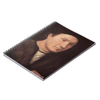 Retrato de Hans Memling- de un hombre Cuadernos