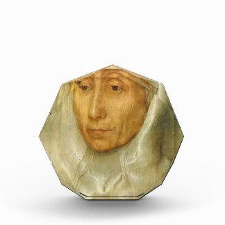 Retrato de Hans Memling- de una mujer mayor