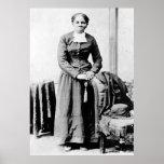 Retrato de Harriet Araminta llevado Tubman Ross Posters