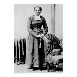 Retrato de Harriet Araminta llevado Tubman Ross Póster
