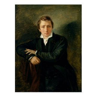 Retrato de Heinrich Heine 1831 Postales