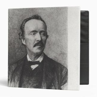 """Retrato de Heinrich Schliemann Carpeta 1 1/2"""""""