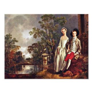 Retrato de Heneage Lloyd y su hermana de Thomas Anuncios
