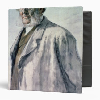 "Retrato de Henrik Ibsen, 1895 Carpeta 1 1/2"""