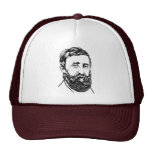 Retrato de Henry David Thoreau Gorras De Camionero