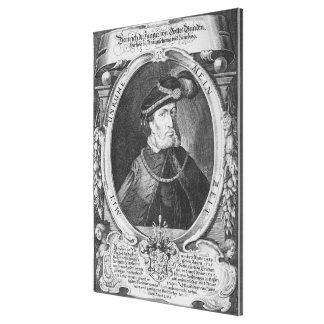 Retrato de Henry el más joven Impresión En Lienzo