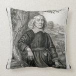 Retrato de Henry más (1614-87) frontispiece a h Almohada