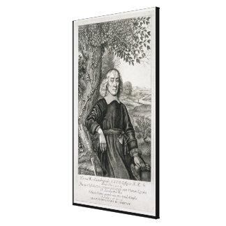 Retrato de Henry más (1614-87) frontispiece a h Lona Envuelta Para Galerias