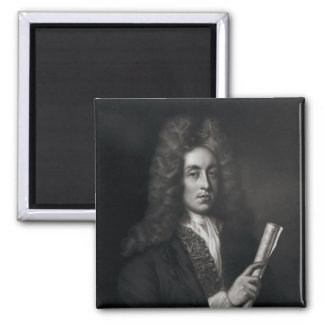 Retrato de Henry Purcell Imanes De Nevera