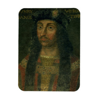 Retrato de Henry VII (1457-1509) (aceite en el pan Iman Rectangular