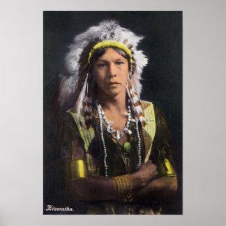 Retrato de Hiawatha Impresiones