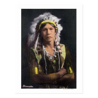 Retrato de Hiawatha Tarjetas Postales