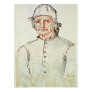 Retrato de Hieronymus Bosch Postales
