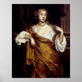 Retrato de Hon. Maria Wharton Impresiones
