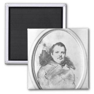 Retrato de Honore de Balzac c.1820 Iman De Frigorífico