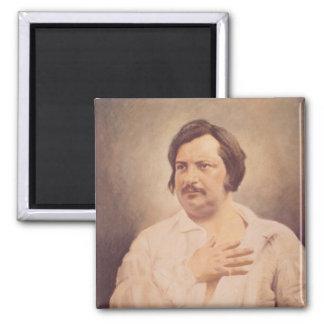 Retrato de Honore de Balzac Imán Para Frigorífico