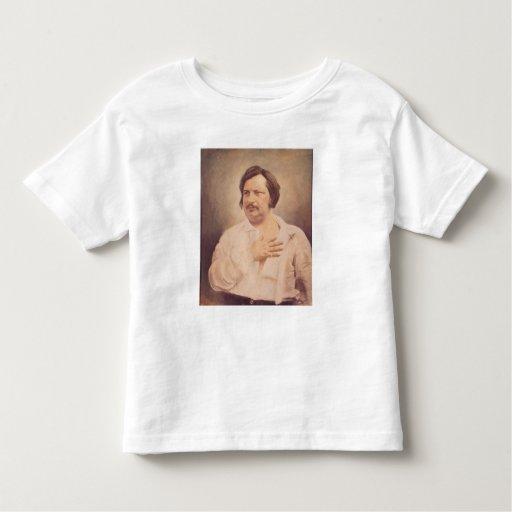 Retrato de Honore de Balzac Tee Shirts